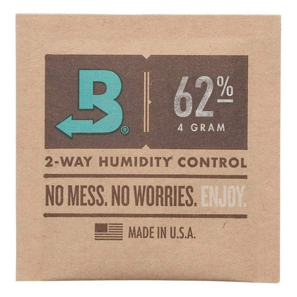 BOVEDA SMALL (4G) PACK - 62% RH 10CT/PACK ( MSRP $7.99 EACH )
