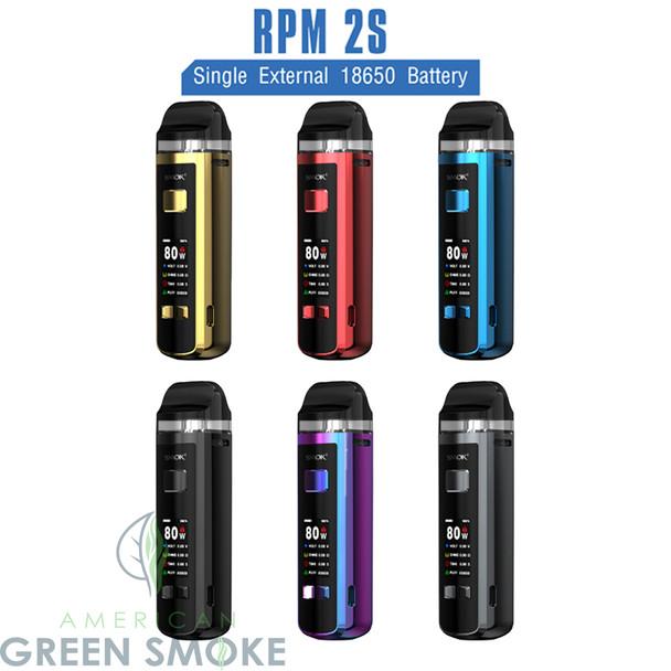 SMOK RPM 2S 80W POD SYSTEM KIT (MSRP $49.99 EACH)