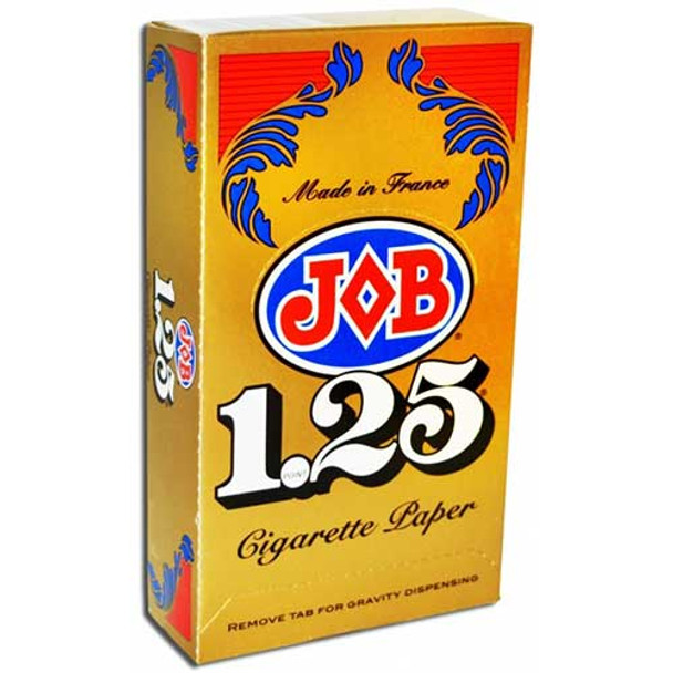 JOB - 1.25 Cigarette Rolling Papers (MSRP $66.99)