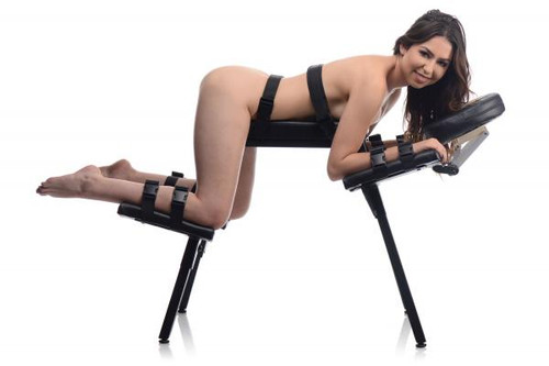 Sex Bench With Restraint Straps