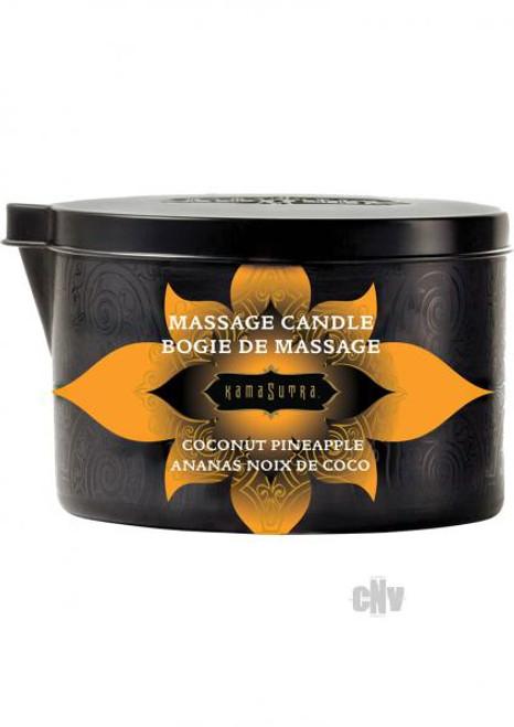 Kama Sutra Massage Candle - coconut pineapple 6oz