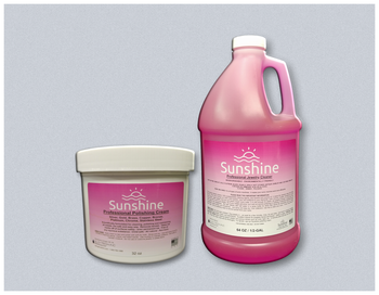 32 oz. Polishing Cream /Tarnish Remover & Half Gallon Jewelry Cleaner