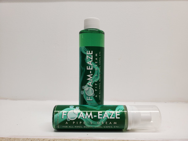 Foam-Eaze Pipe & Bong Cleaner Combo Special!!! 2.5oz foamer & 6oz refill