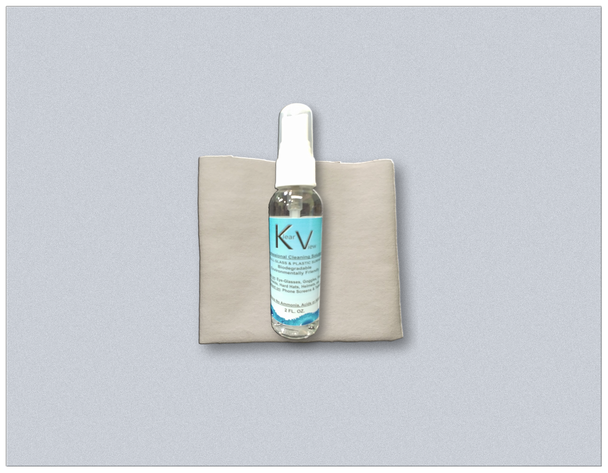 Klear View Spray 2 oz. plus Cotton Jewelers Cloth
