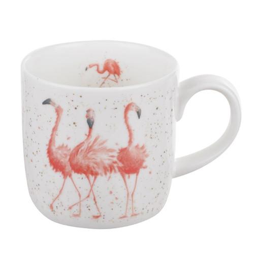 Royal Worcester Pink Ladies, Flamingo Mug 310ml