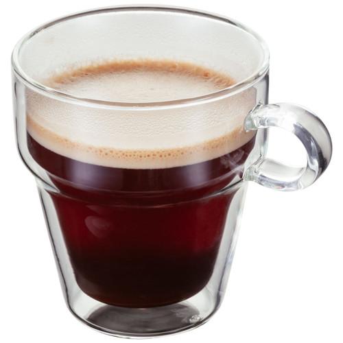 Judge Double Walled Glasswear 2 Piece Coffee Mug Set
