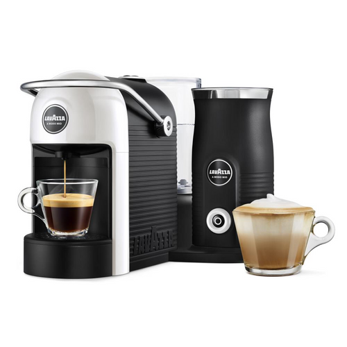 Lavazza Jolie & Milk Pod Coffee Machine - White