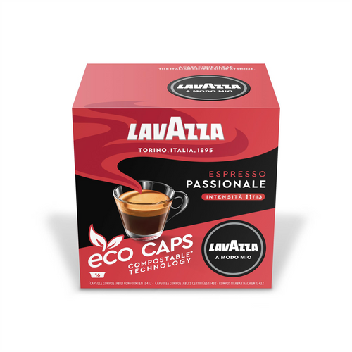 Lavazza Passionale Eco Capsules Pack of 16