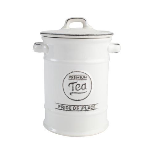 Pride Of Place Tea Jar White