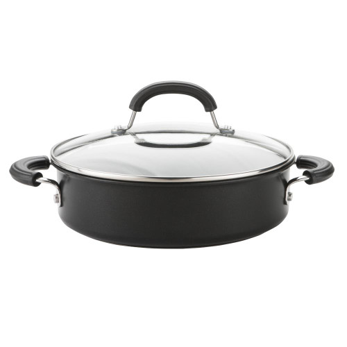 Circulon Total 24cm Shallow Casserole Pan with Lid