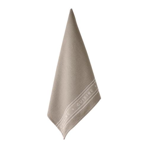 Ladelle Proffessional Series II Stone Tea Towel 40259 Cooks Boutique