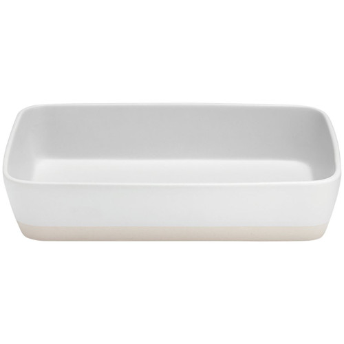 Ladelle Eat Well 40cm Rectangle Baking Dish white Cooks Boutique