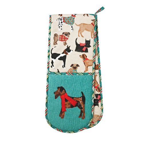Ulster Weavers Cotton Double Oven Glove Hound Dog