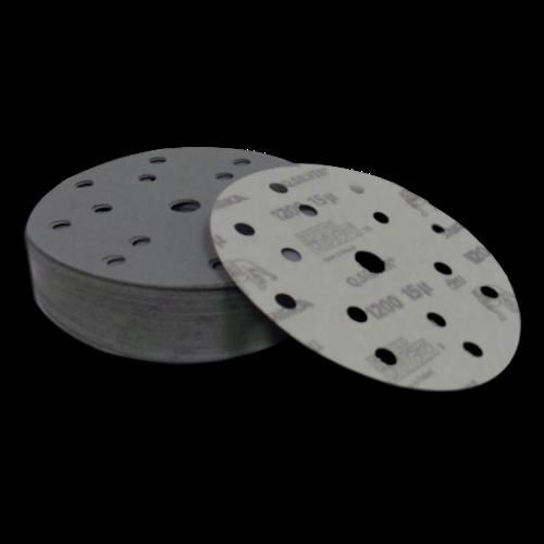 Mirka Q Silver Velcro Discs 150mm (50)