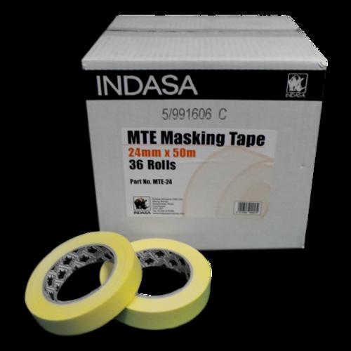 """Indasa 1"""" Masking Tape (1 Roll)"""