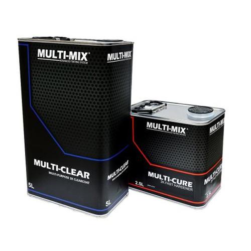 MULTI-MIX MULTI CLEAR 2K CLEARCOAT 7.5L EXTRA FAST KIT