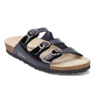 NOLENE is extremely comfortable and fatigue-free walking sandal for summer. Available in Black and Bronze