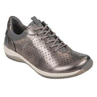 KEPLER Sport Casual shoe keeps pace with your busiest days. Available in Black and Metallic Pewter