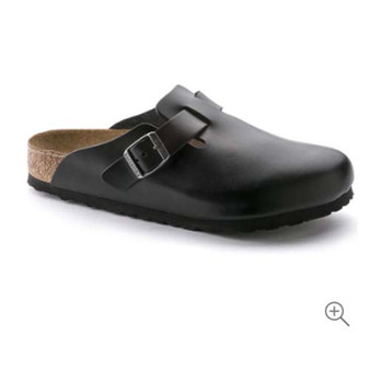 BIRKENSTOCK - BOSTON SOFT FOOTBED BLACK