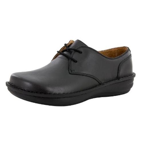 Alegria Men's Liam Black Nappa Shoe