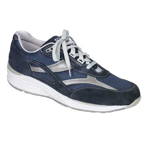 Journey Mesh Lace Up Sneaker provides proper support and comfort for your feet. Medicare Approved: This style has met the standards set by Medicare. Please see your doctor for details and qualifications. Available in Blue