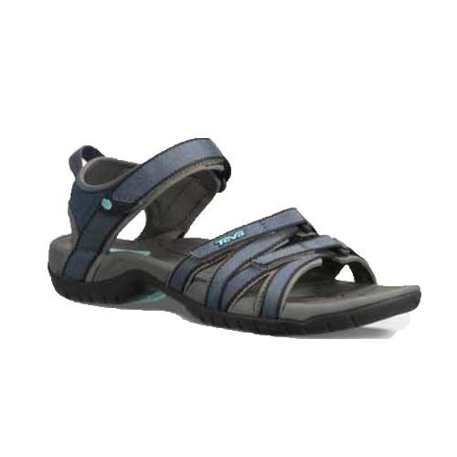 Women's Teva Tirra Sandals stabilize and support your foot on uneven terrain. Available in Bering Sea, Hera Gray Mist, and Plum Truffle