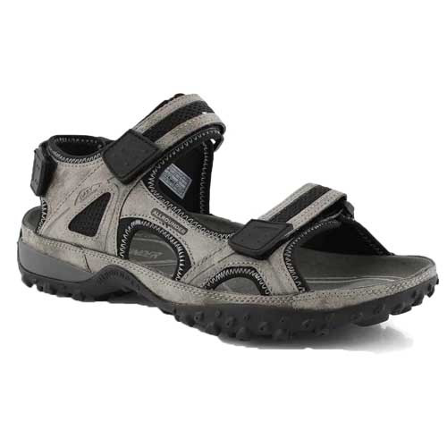 REGENT men's sport sandals protect your foot from pressure sores and chafing and provides a secure resistant grip. Available in Brown and Steel