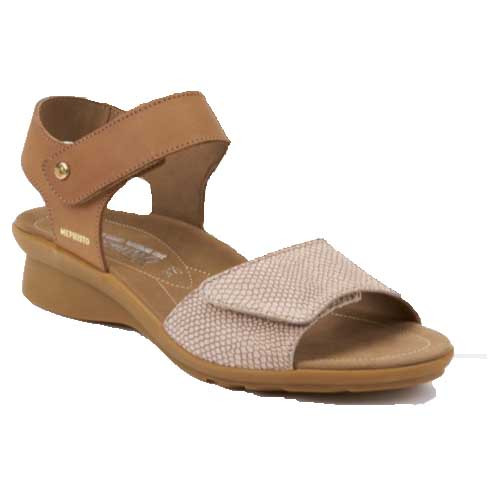PATTIE sandals make walking becomes a wonderfully comfortable experience. Available in Hazelnut