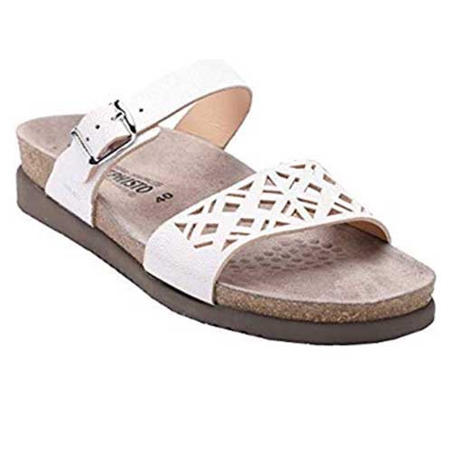 HIRENA sandals made from high-quality materials and they are amazingly comfortable. Available in White