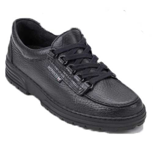 Wanda shoe is extremely comfortable and allows you to walk around gently and effortlessly, and guarantees a healthy environment for your feet. Available in Black