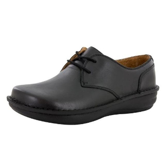 Alegria Men's Liam Black Nappa Shoe