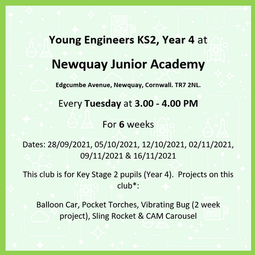 Newquay Junior Academy Year 4 ONLY Aut1 '21 M2A 400