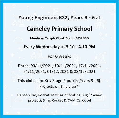 Cameley Primary School Yrs 3-6 Aut 2 '21 M2A 435