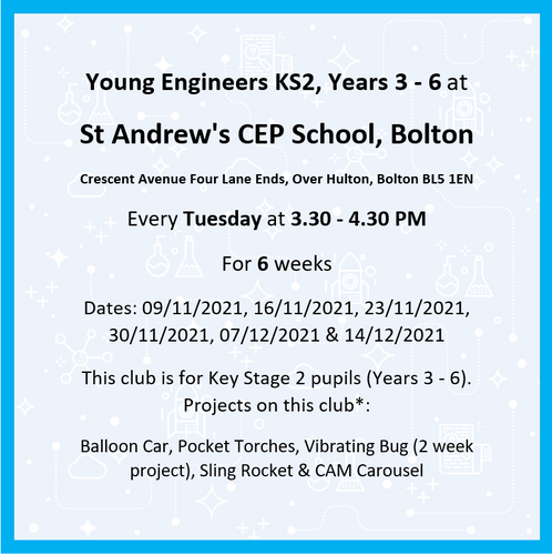 St Andrew's CEP School, Bolton Yrs 3-6 Aut 2 '21 M2A 450