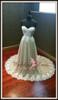 stretch wedding dress