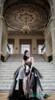 gothic vintage custom wedding dress