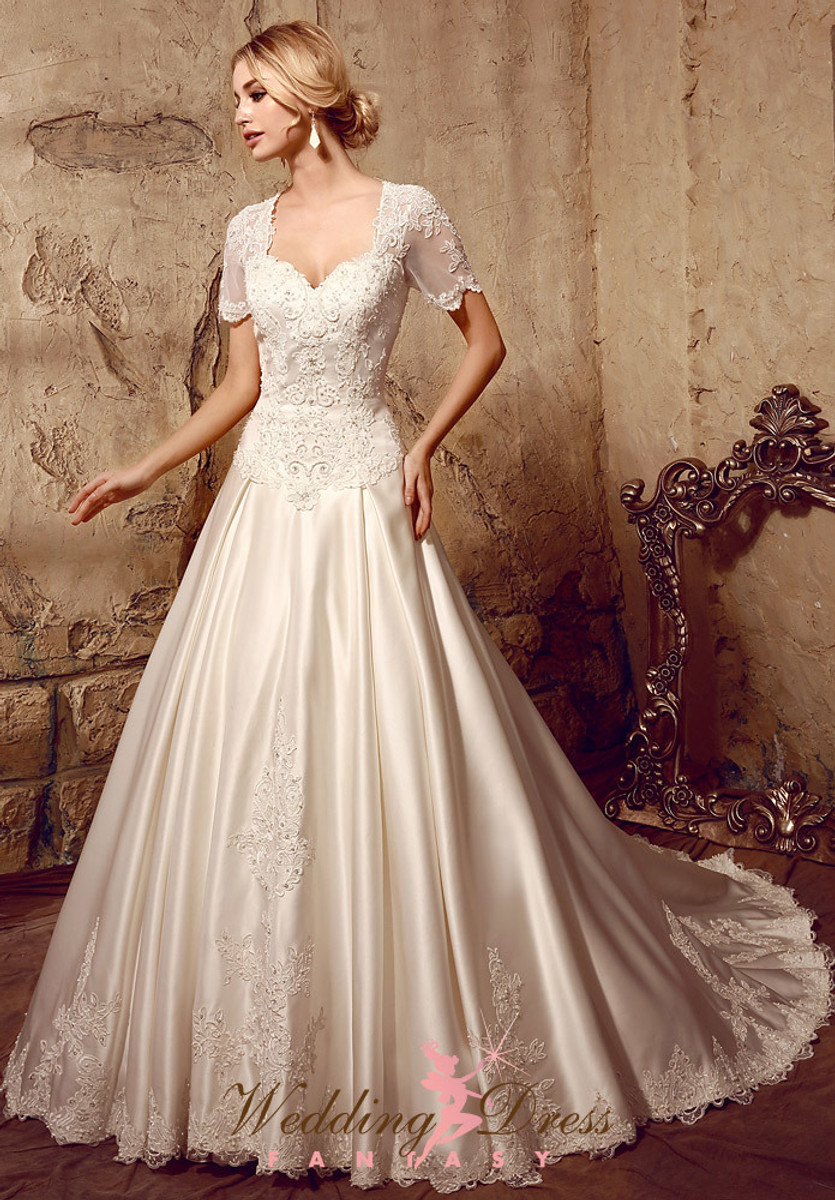 Modest Wedding Dress with Sleeves