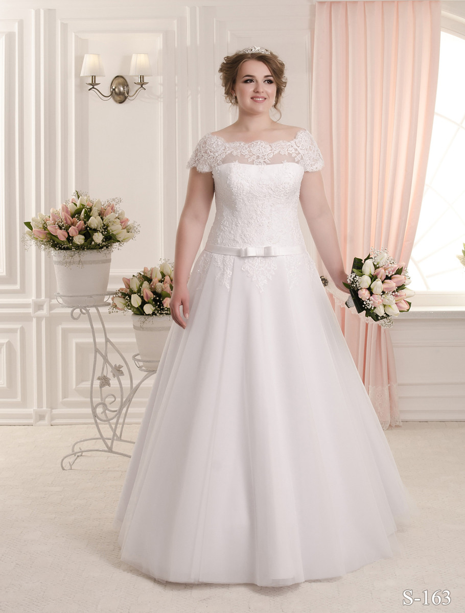 Plus Size Wedding Dress - Available in Every Color 163