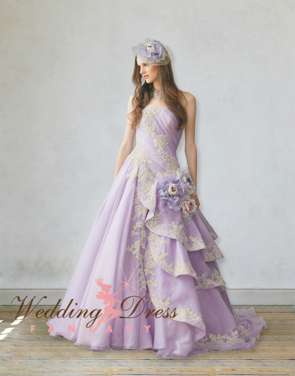 Lavender Wedding Dresses