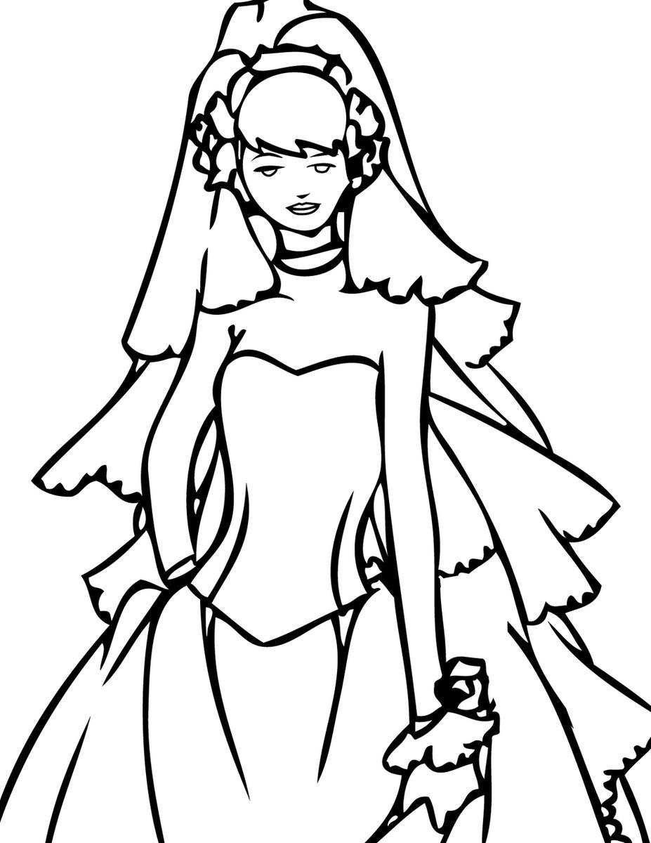 Custom Made Wedding Dress aline