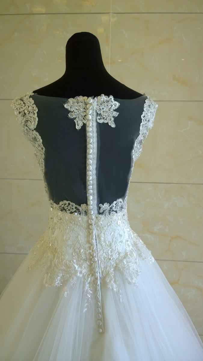 Fairytale Lace Ballgown Wedding Dress