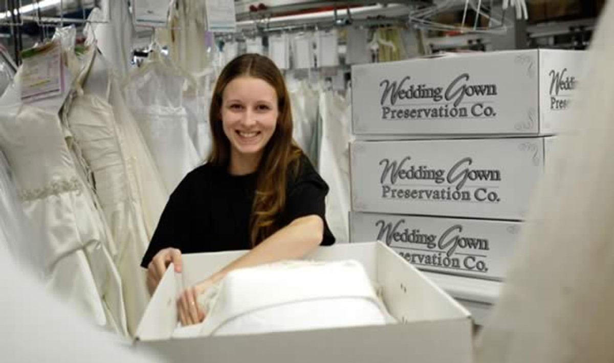 Organic Wedding Dress Preservation Kit