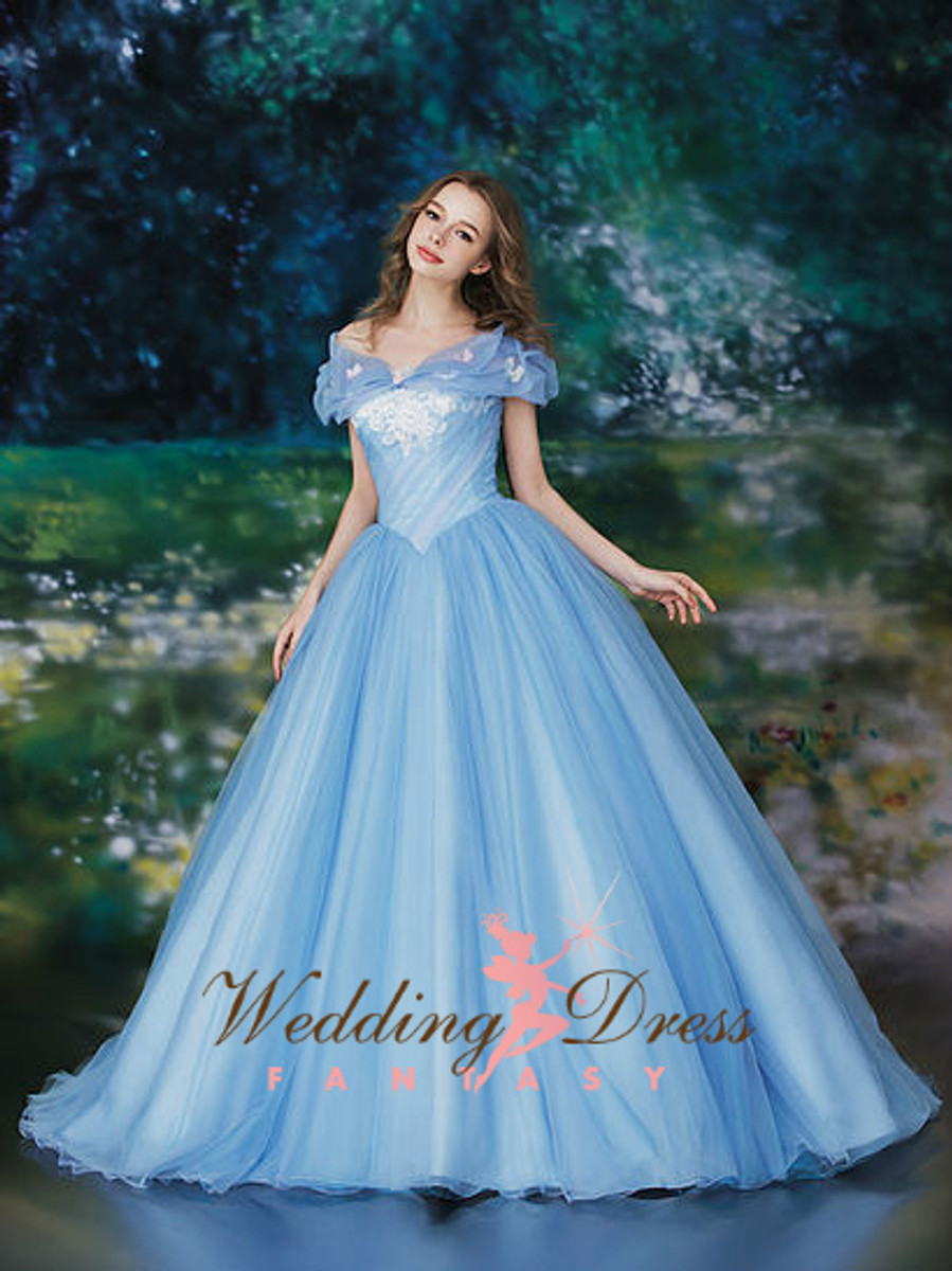 Cinderella Inspired Wedding Dress