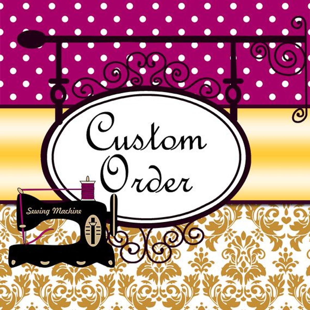 Custom Wedding Dress for Yvonne