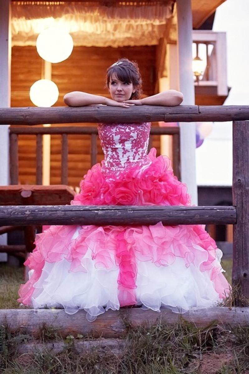Pink Wedding Dresses
