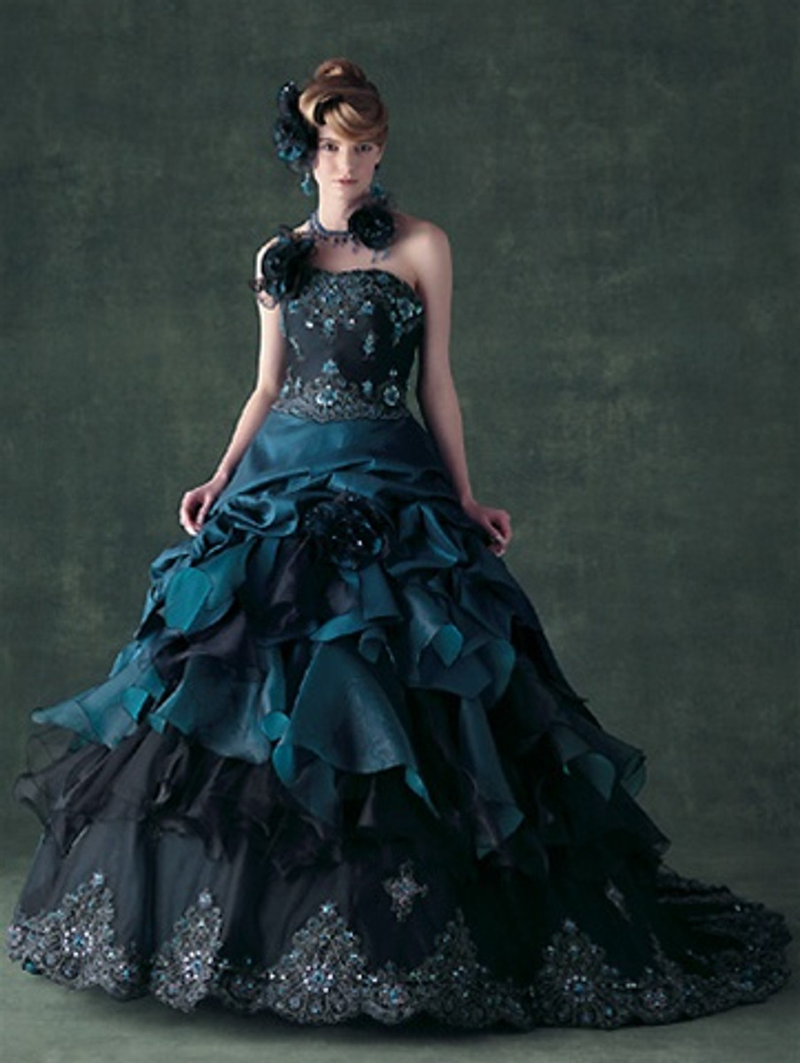 Blue Wedding Dress - Available in Every Color 28