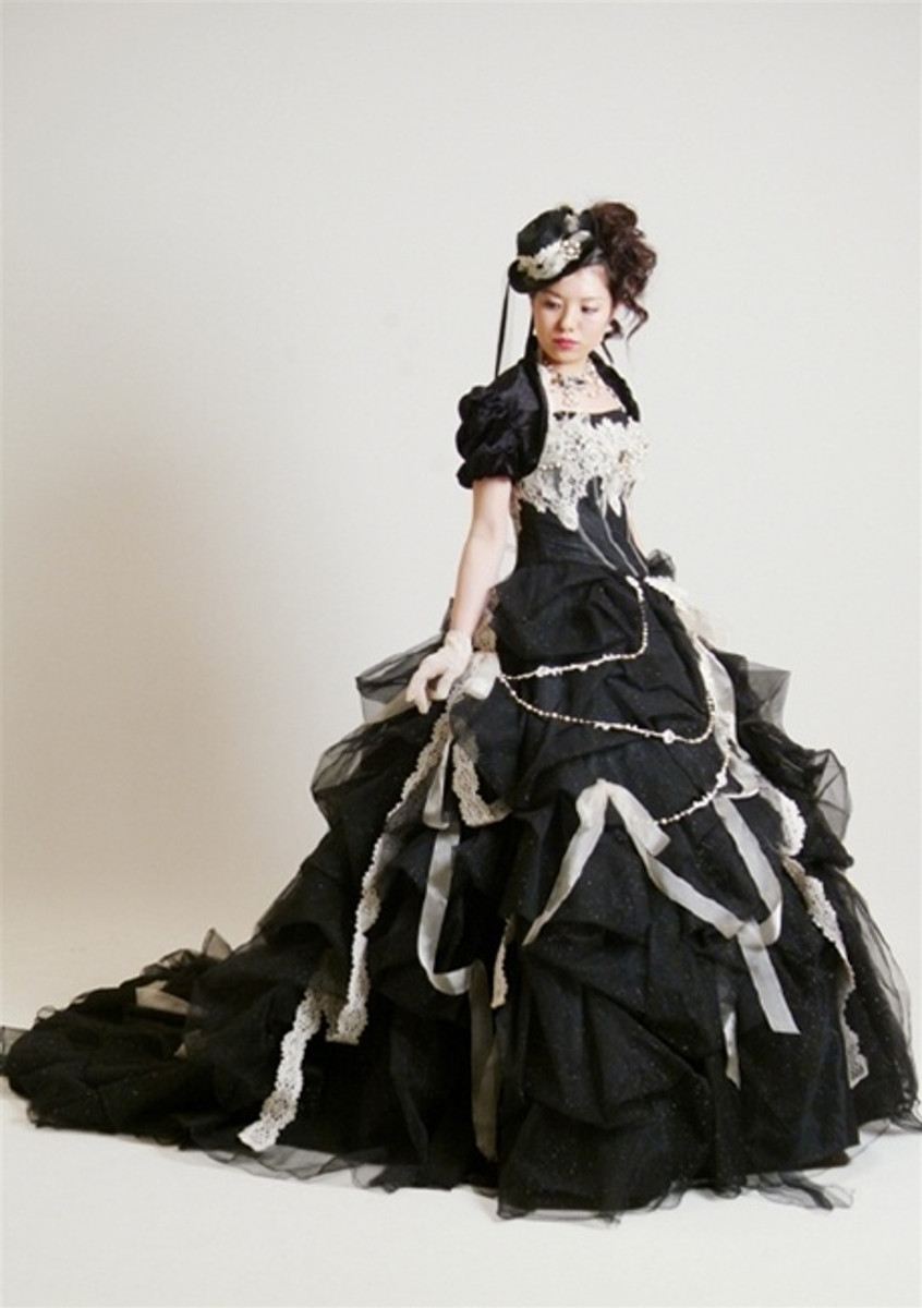 Steampunk Wedding Dress.Steampunk Wedding Dress Available In Every Color