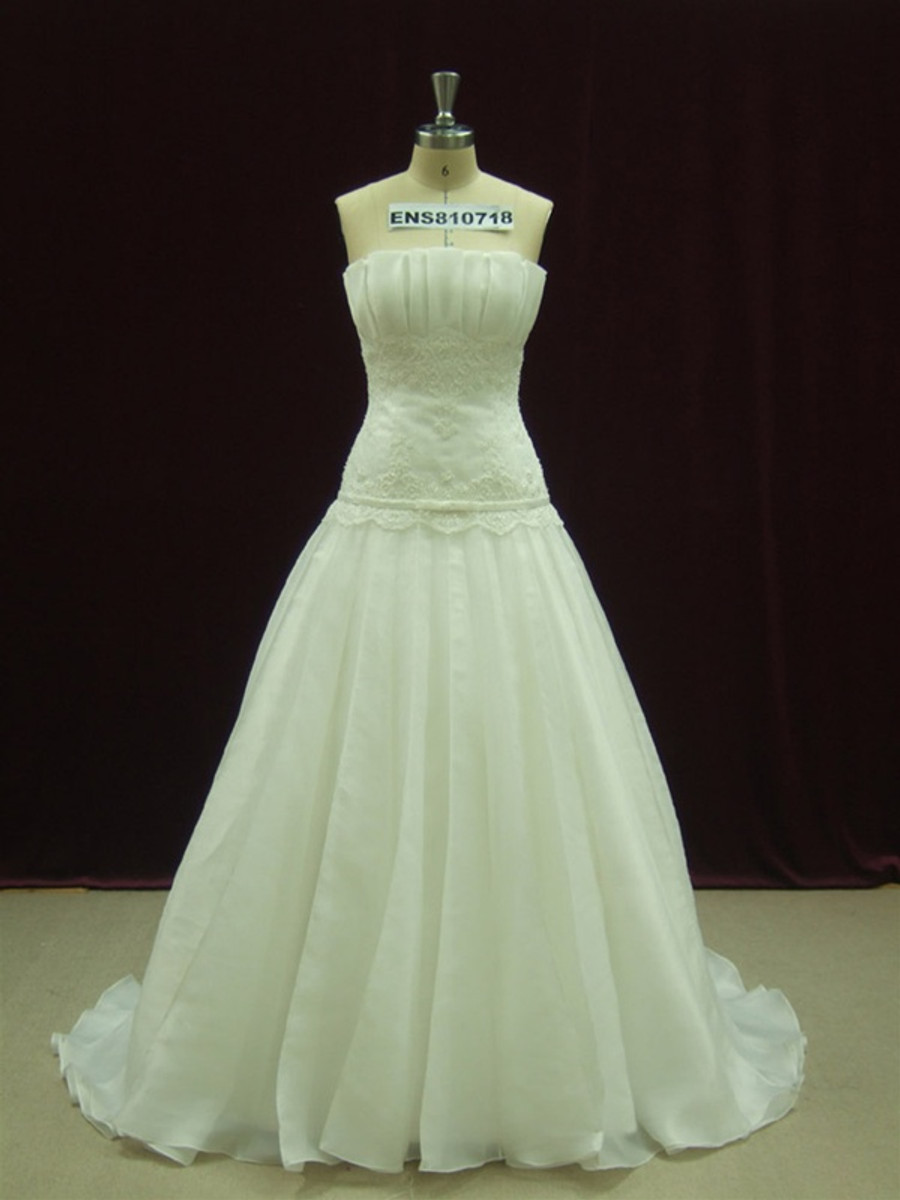 Designer Wedding Dress - Available in Every Color 47