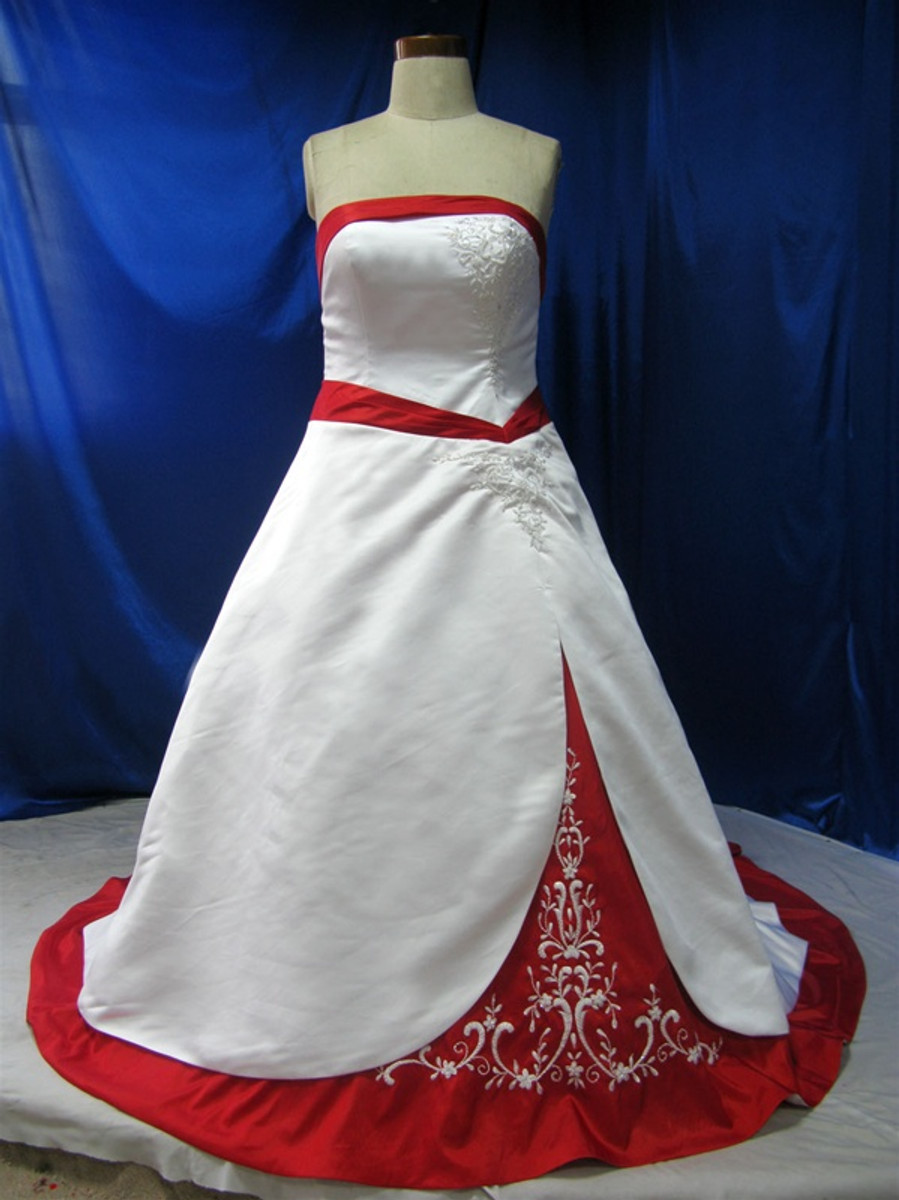 Plus Size Wedding Dress - Available in Every Color 12