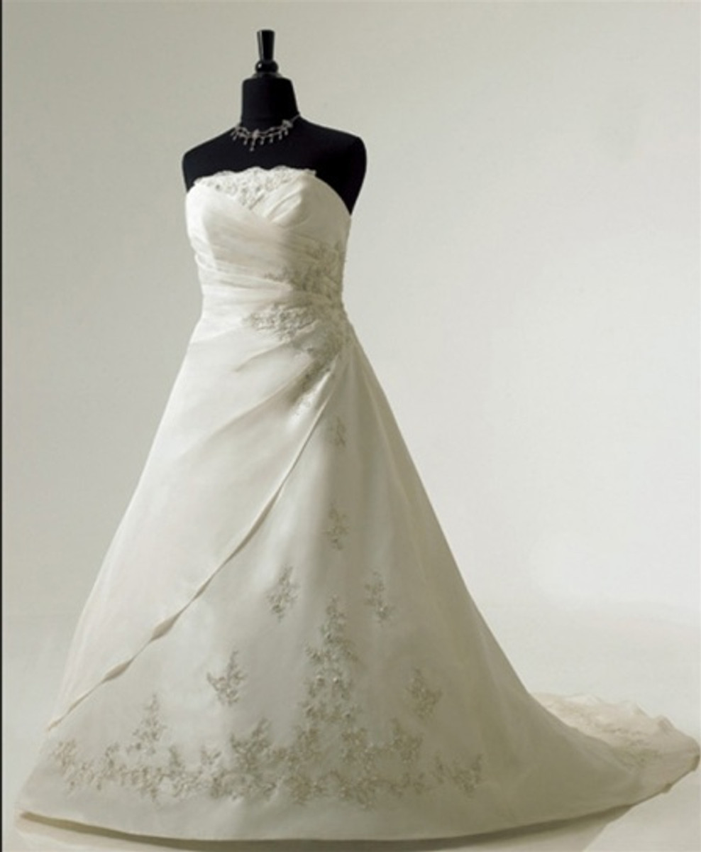Plus Size Wedding Dress - Available in Every Color 20